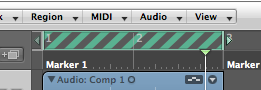 Logic Pro Bar Ruler Skip Cycle