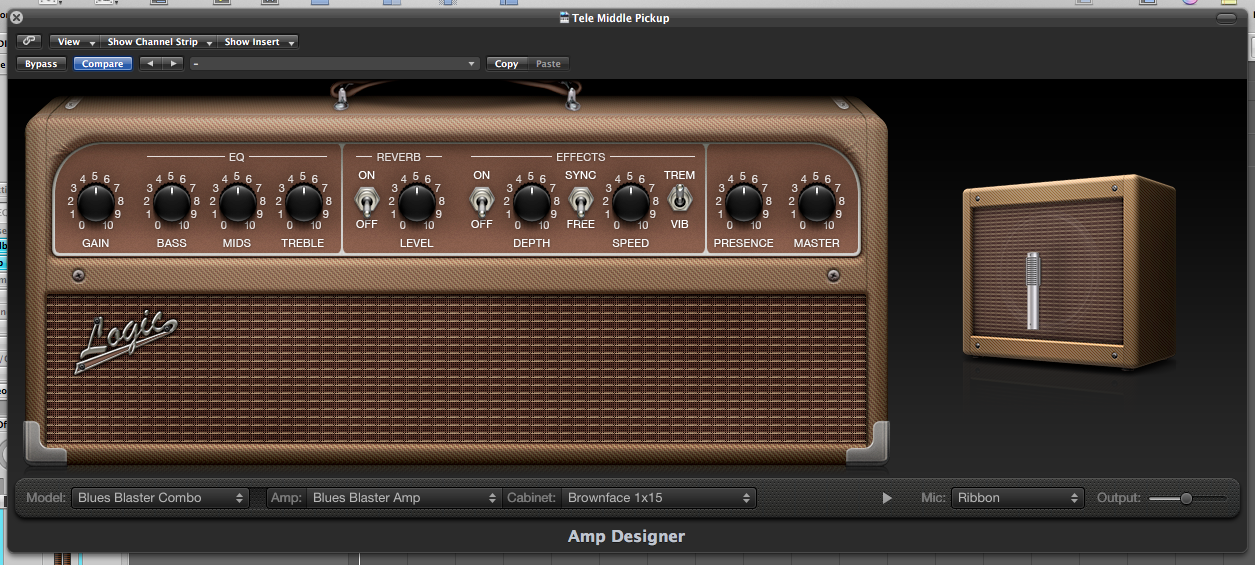 Blues Blaster Amp
