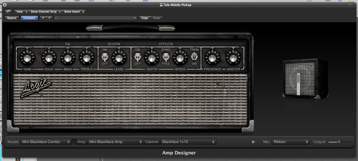 Mini Blackface Amp
