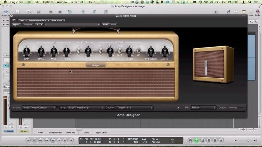 How to Use the Logic Pro Amp Designer