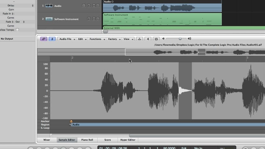 The Logic Pro Arrange Window Part 4 - The Editors