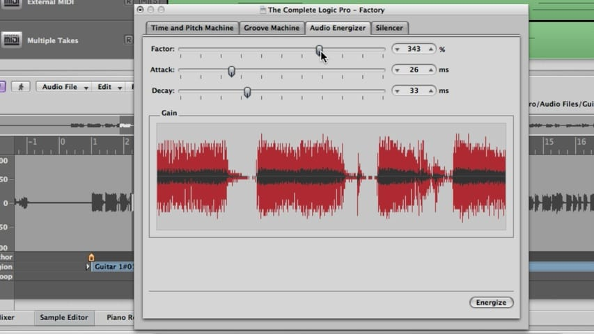 Logic Pro Audio Editing Part 5 - The Digital Factory Part 2