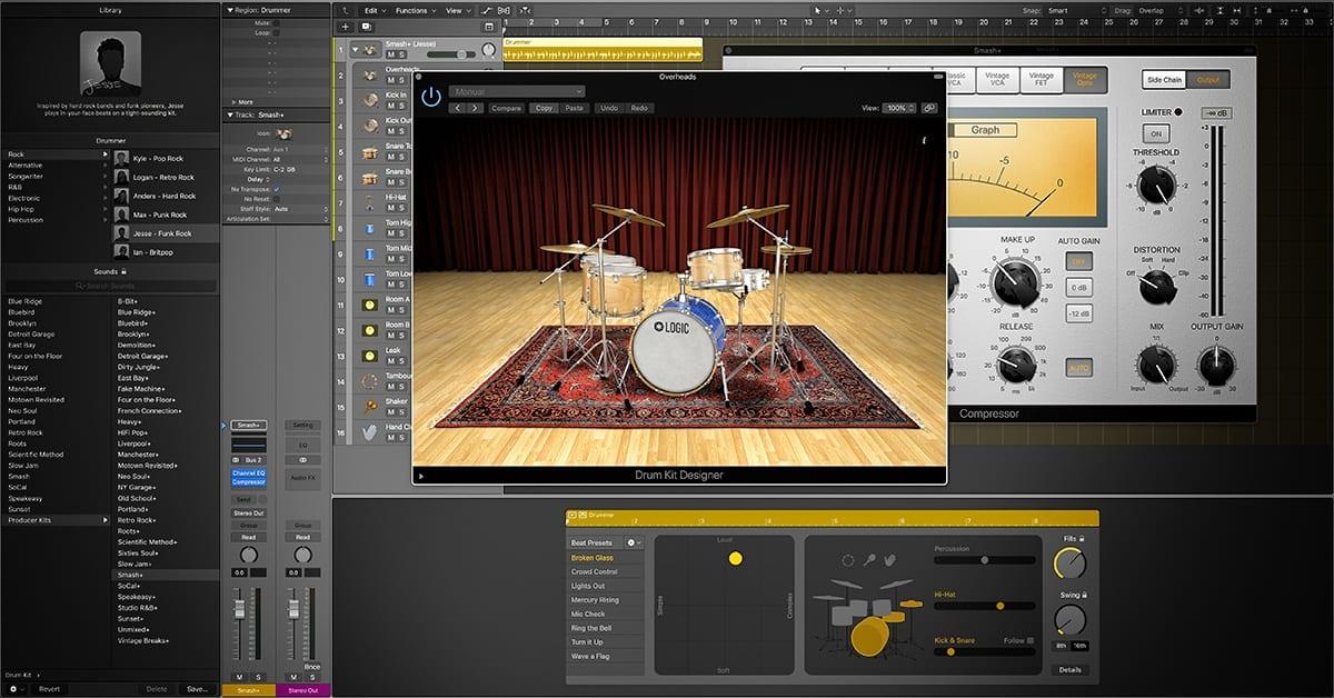 Drummer and Drum Kit Designer Cheat Sheet