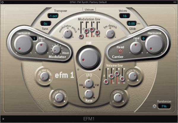 EFM1 FM Synth