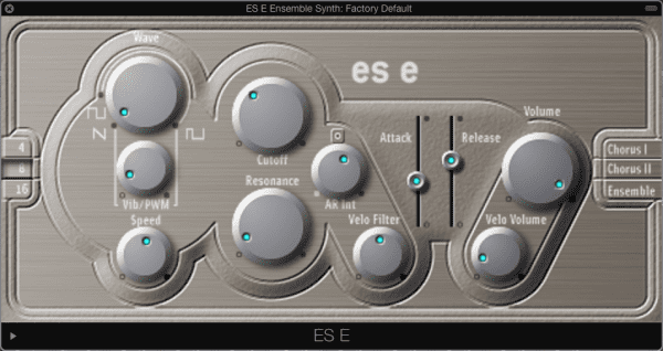 ES E Ensemble Synth