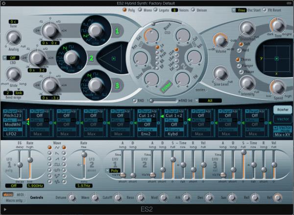 ES2 Hybrid Synth