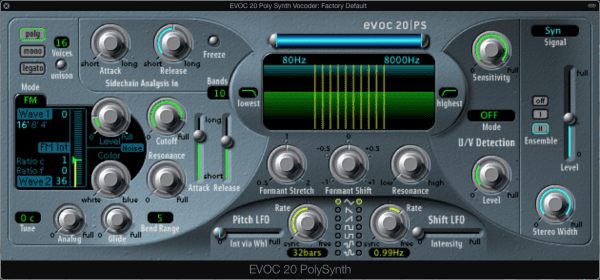 EVOC 20 Poly Synth Vocoder