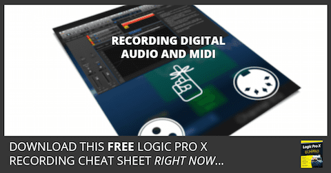 Free Recording Cheat Sheet
