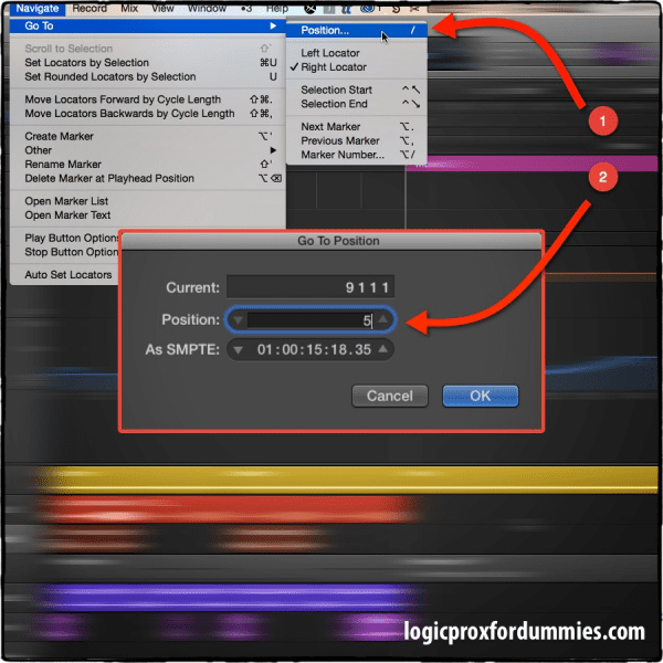 Logic Pro X Arranging and Editing Tip