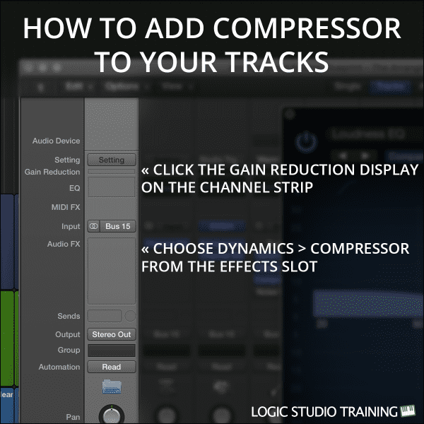 How To Add Compressor To Your Tracks