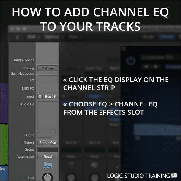 How to Add Channel EQ to Your Tracks