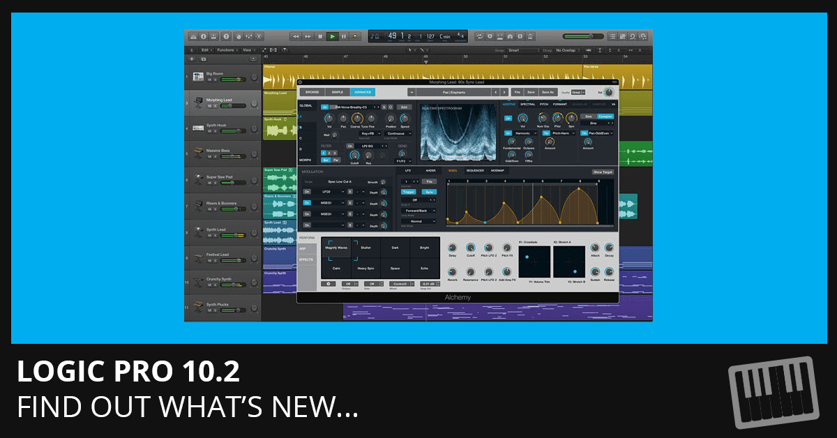 Logic Pro 10.2 - Find Out What's New