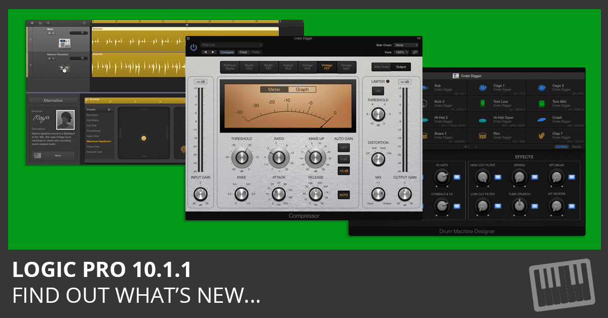 Logic Pro 10.1.1 - What's New