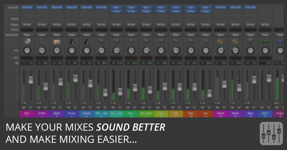 Logic Pro Mixing Metering And Loudness Explained