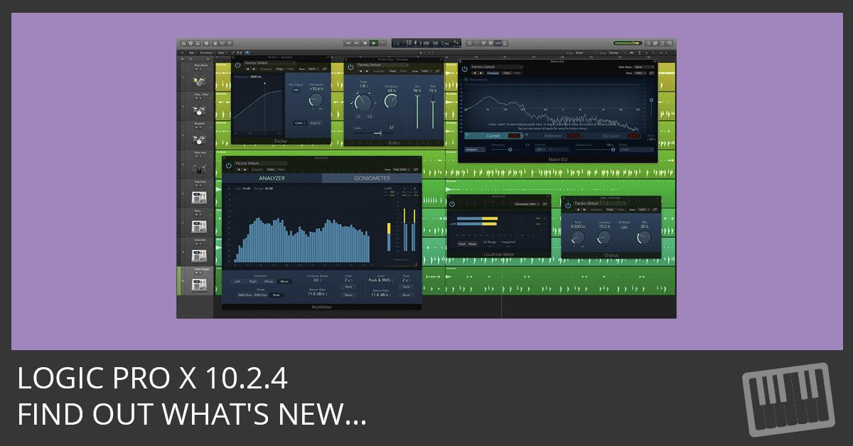 Logic Pro X 10.2.4 Update