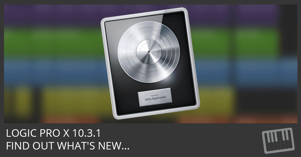 What's New in Version 10.3.1