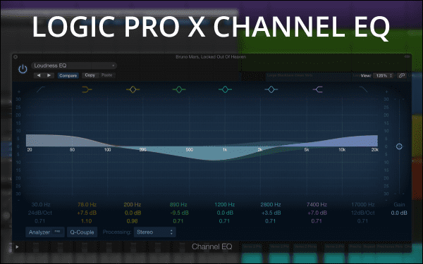 Logic Pro X Channel EQ