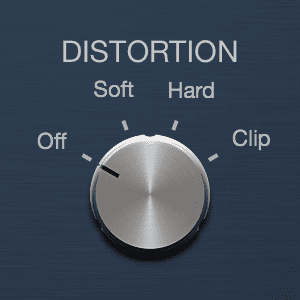 Logic Pro X Compressor Distortion Knob