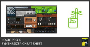 Logic Pro X Synthesizer Cheat Sheet