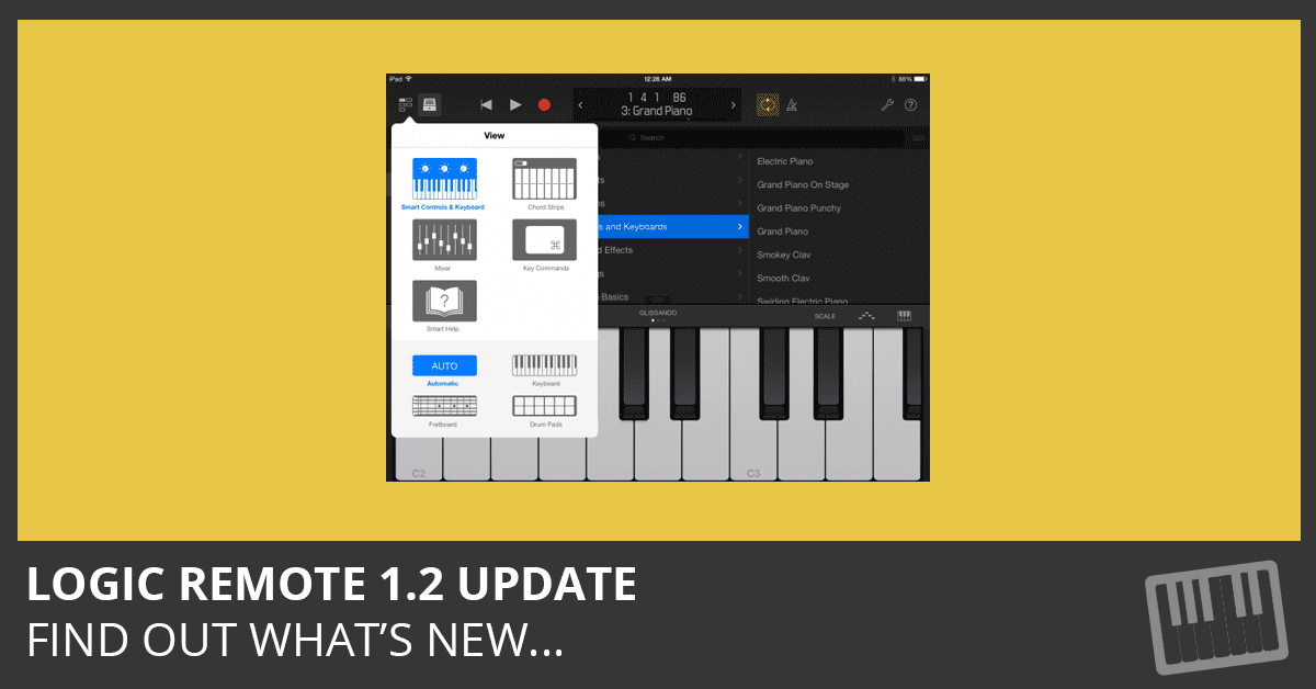 Logic Remote 1.2 - What's New