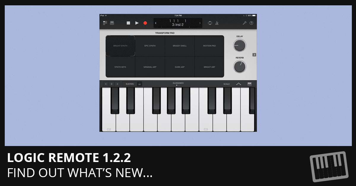 Logic Remote 1.2.2 Update