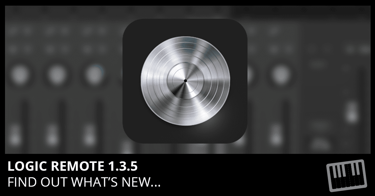 Logic Remote 1.3.5 Update