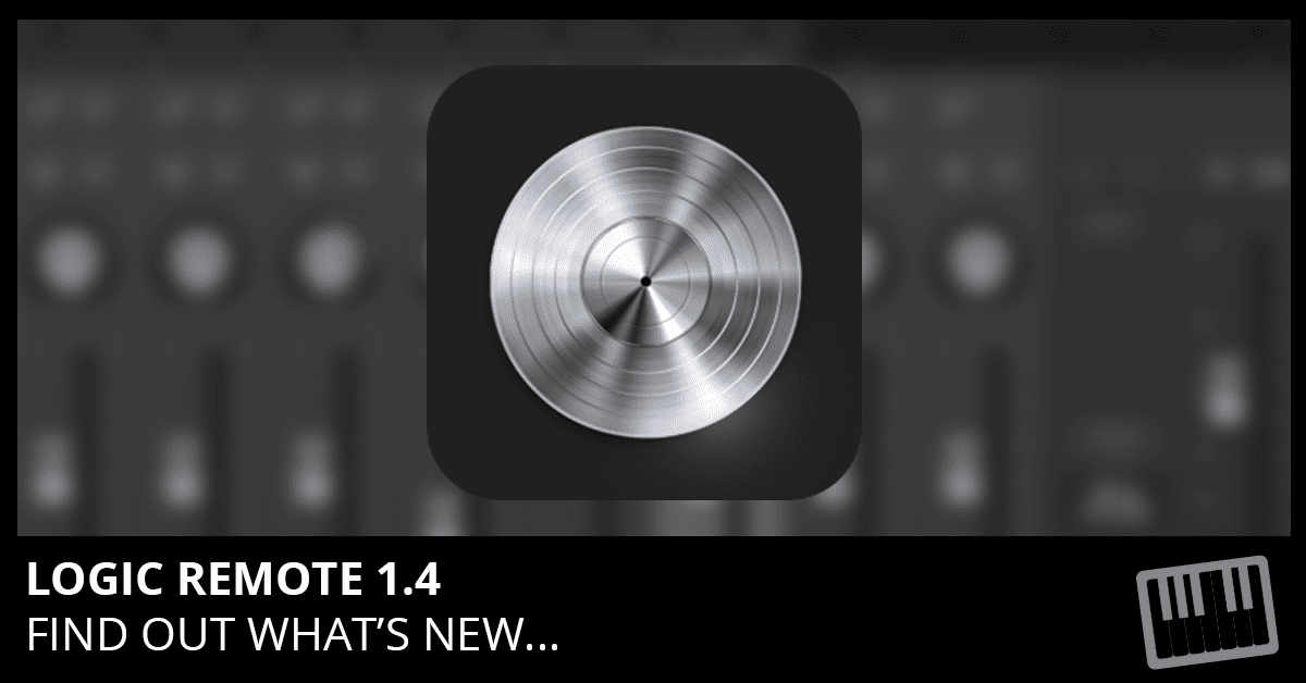 Logic Remote 1.4 Update