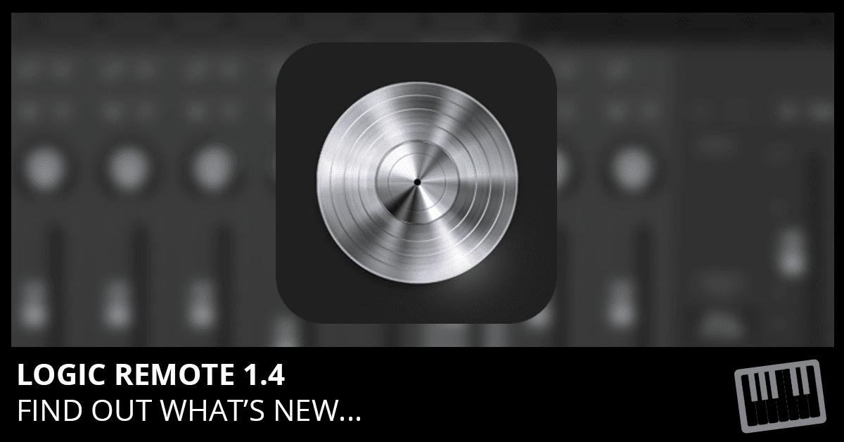 Logic Remote 1.4 Update