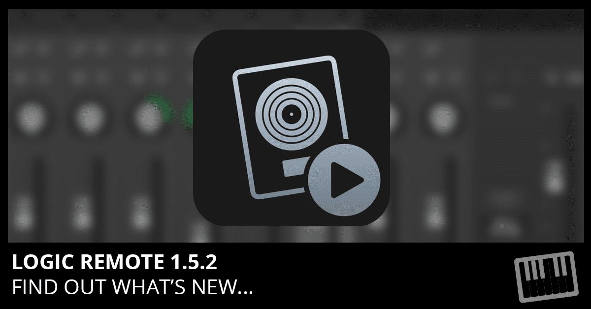 Logic Remote 1.5.2 Update