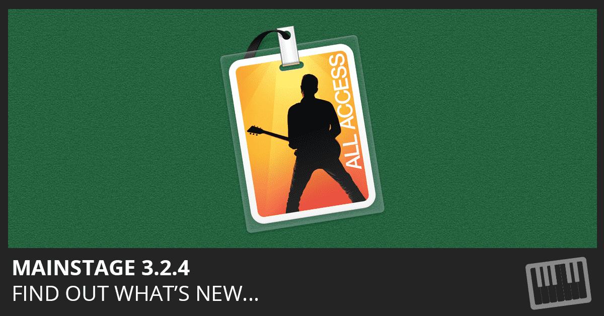 MainStage 3.2.4 Update