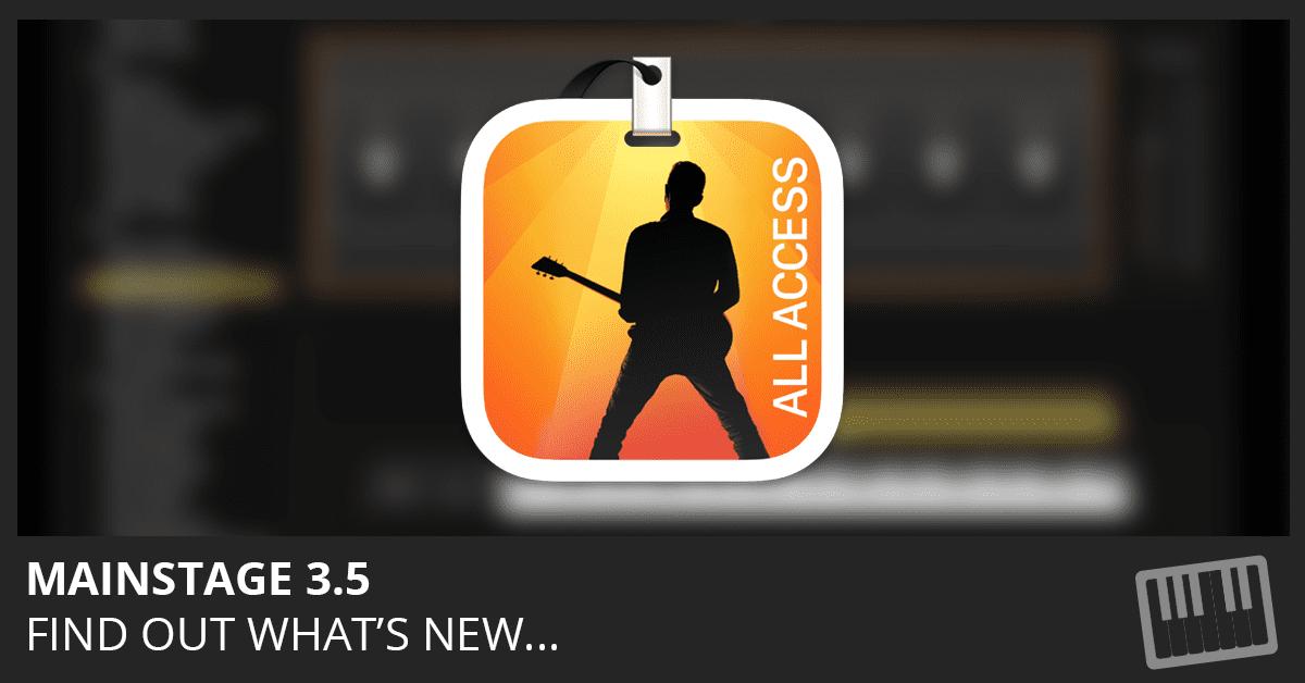 MainStage 3.5 Update