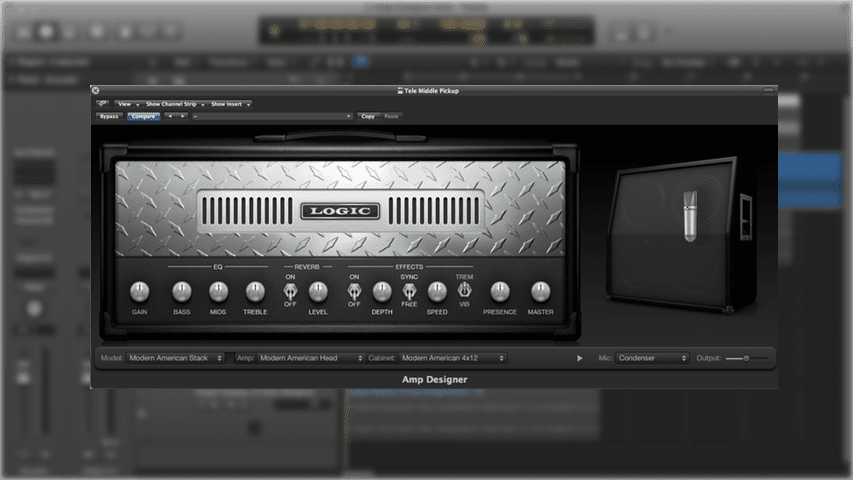 Mastering the Logic Pro Amp Designer Part 1