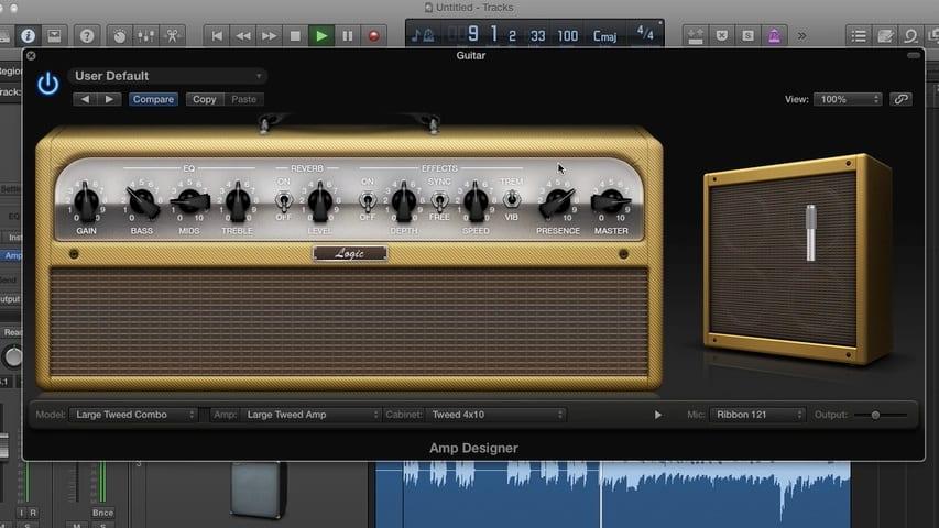 Mastering the Logic Pro Amp Designer Part 3