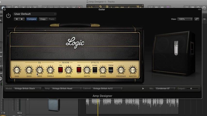 Mastering the Logic Pro Amp Designer Part 4