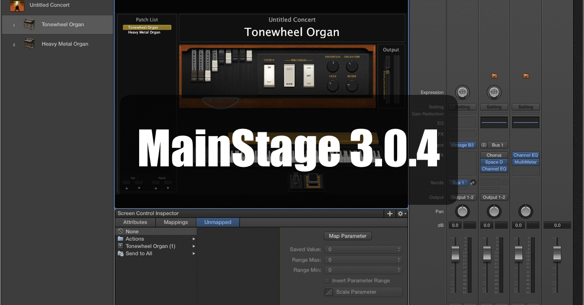 MainStage 3.0.4