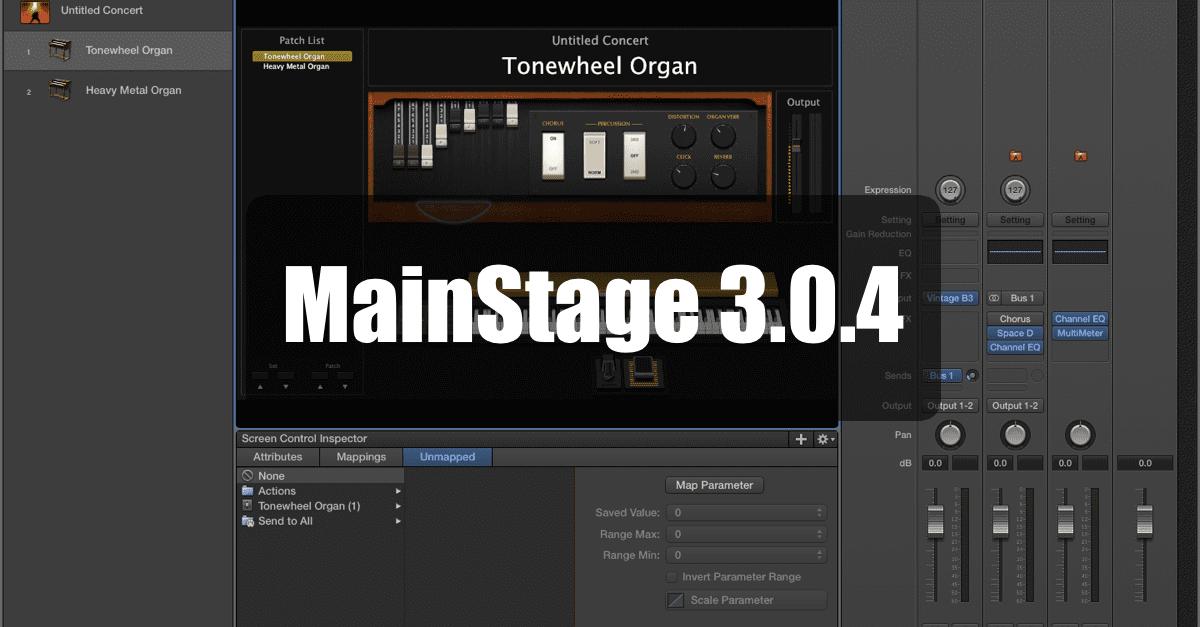 MainStage 3.0.4